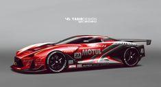 ArtStation - Nissan GT 2020 Motul, Yasid Oozeear