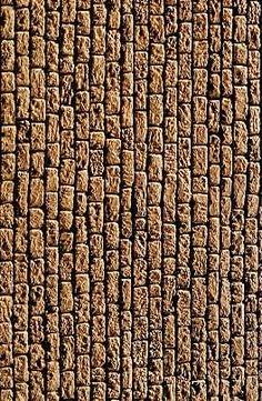 Les imprimables de Miniaturama : Texture : mur en pierre de type pyramide