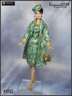Tenue Outfit Accessoires Pour Fashion Royalty Barbie Silkstone Vintage 1063 | eBay