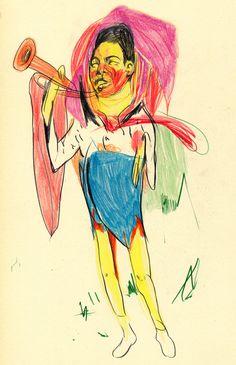 Colour Drawings - Ryan Humphrey