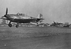 Hawker Hurricane.  Battle of Britain.