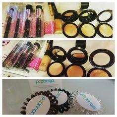 #mac #zoeva #hair #powder #foundation #beautyblender #concealer #brushes #brush #fixspray #highlighter #nyx