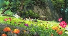 The Secret World of arrietty: Sho-Kun Secret World Of Arrietty, The Secret World, Secret Life, Studio Ghibli Art, Studio Ghibli Movies, Aesthetic Desktop Wallpaper, Scenery Wallpaper, Hayao Miyazaki, Film Anime