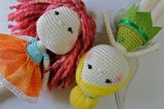 Tinkerbell amigurumi crochet doll by CranberriesKnot on Etsy