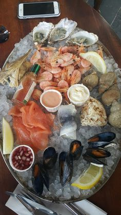 Seafood Platter at Whistable.