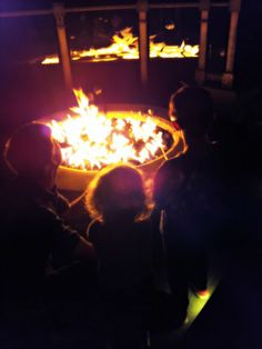 S'mores by campfire, the best summer time activity and treat