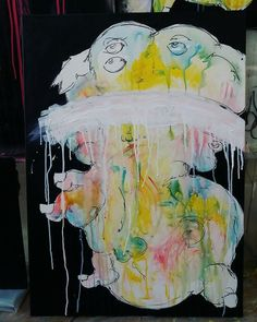 Piccola commisione in elaborazione . ▶ Dipinto in corso.  #illustration #myart #art #mysketch #sketchbook #sketch #mydrawing #drawing #photo #pen #instaart #girl #color #creative #picture #artwork