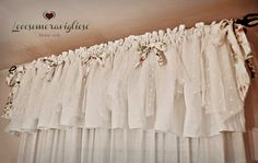 Tende Fai Da Te Stile Shabby : Best tende images windows curtains dekoration