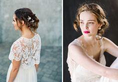 Inspirations cheveux coiffés décoiffés | Look Mariage | Queen For A Day - Blog…