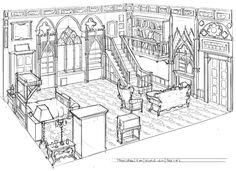 Old School RPG 3/4 Rooms