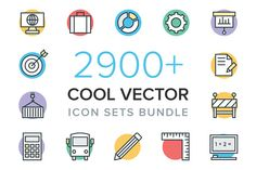 Popular Icons ~ Creative Market