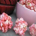 Kool Aid popcorn balls. Made these as a kid --tasty stuff