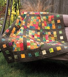 beautiful fall quilt- cozy up when the leaves start  to fall, and the temp drops