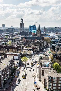 Domtoren van Utrecht. Utrecht, Paris Skyline, New York Skyline, Tulip Fields, Homeland, 17th Century, Rooftop, Amsterdam, Facade
