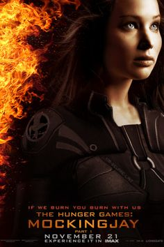 FanMade poster for Mockingjay Part 1