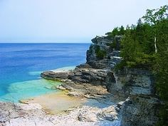 Bruce Peninsula... No need to go down south, just a little West in Ontario, CAN