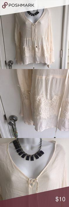 NWT cute oversize dress top. Firm unless bundled. Thank you for understanding.  Rue 21 Tops Blouses