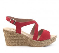 Sandalia cuña piel IXOO Outlet, Espadrilles, Wedges, Bbc, Shoes, Fashion, Red Crib, Shoes Sandals, Zapatos
