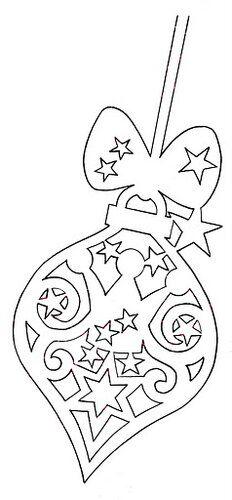 Christmas Scroll Saw crafts Noel Christmas, Christmas Paper, Christmas Colors, All Things Christmas, Xmas Ornaments, Christmas Decorations, Kirigami Templates, Stencil, Paper Art