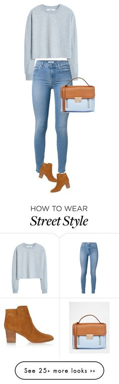 """street style"" by ecem1 on Polyvore featuring MANGO, 7 For All Mankind, ASOS and Tory Burch"