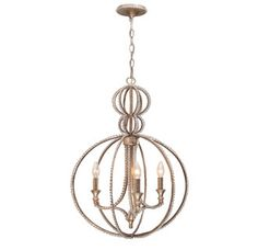 Crystorama Lighting Group 6765-DT  For the dining room ~~ 18in across and 28.5in high.