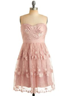 "Modern ""Pretty in Pink"" dress."