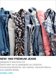 NEW! 1969 PREMIUM JEANS