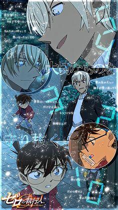 >>T h a n k s ♥ マイコレ/フォロー/友希/コメ/ぽち>>S o r r y … 二次加工/著マ...自作|名探偵コナン ゼロの執行人[76039012]の画像。見やすい!探しやすい!待受,デコメ,お宝画像も必ず見つかるプリ画像 Conan Movie, Detektif Conan, Magic Kaito, Manga Anime, Anime Art, Detective Conan Wallpapers, Kaito Kid, Amuro Tooru, Dc Movies