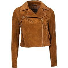 Rockandblue Amira Jacket ($135) ❤ liked on Polyvore featuring outerwear, jackets, coats, coats & jackets, tops, camel, womens-fashion, zipper jacket, camel jacket and tall jacket
