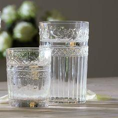 6-tlg. Longdrinkglas-Set klar Recyclingglas Glas Wasserglas Gläser Saftglas in Möbel & Wohnen, Kochen & Genießen, Gläser & Glaswaren | eBay
