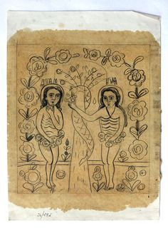 Drawing for Byzantine icon on glass -Romania Byzantine Icons, Byzantine Art, Christian Paintings, Adam And Eve, Bible Stories, Sacred Art, Outsider Art, Illuminated Manuscript, Religious Art