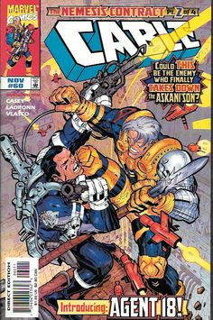 Cable # 60 Marvel Comics Vol 1