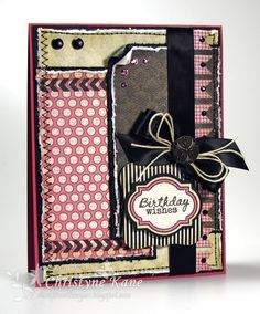 Card by Christyne Kane using stamps and dies  from Verve Stamps. #vervestamps
