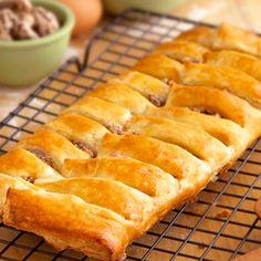 Pepperidge Farm® Puff Pastry - Recipe Detail - Candied Pecan Cheese Braid