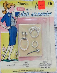 Progressive Teen-Age Doll accessories