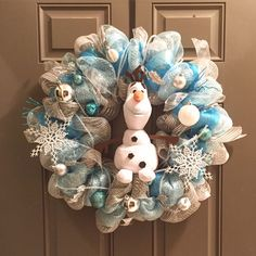 Olaf Wreath! Perfect for Christmas/Winter time!