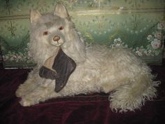 The VERY BEST French Toy Mohair Pajama Dog Bag EVER!
