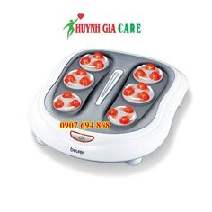 f1455bd393 Beurer Shiatsu Foot Massager with 18 Rotating Massage Nodules for Tired  Feet Plantar Fasciitis and Nerve Pain 2 Speed Settings Built in Heat  Function   You ...