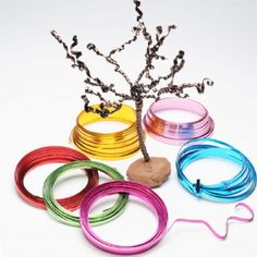 Coloured Flat Enamelled Wire