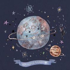 #일러스트 #일러스트레이션 #행성 #별 #우주  #illust #illustration #drawing #sketch #paint #planet #star