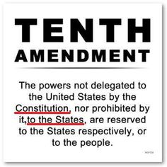 what is the importance of the 10th amendment