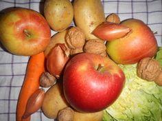 Regionales und saisonales Obst, Gemüse und Nüsse im Januar. Einfach Zero Waste leben