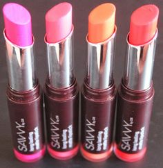Savvy By DB Long Lasting Matte Lipsticks   Swatches & Review!