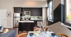 The George Apartments - Wheaton, MD | #Kaindl #Heritage | #spartansurfaces #LaminateFlooring #Greenguard