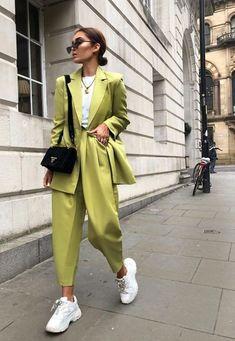 Look Fashion, Fashion Clothes, Fashion Women, Fashion Outfits, Fashion Trends, Fall Fashion, Suit Fashion, 80s Fashion, Street Style Fashion