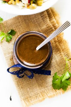 This Balsamic Vinaigrette Dressing Recipe is the perfect way to make your salads shine. Packed with flavor, bottled dressings just can't compete. Balsamic Vinaigrette Recipe, Vinaigrette Dressing, Salad Dressing Recipes, Balsamic Dressing, Cooking Recipes, Favorite Recipes, Stuffed Peppers, Salads, Snacks