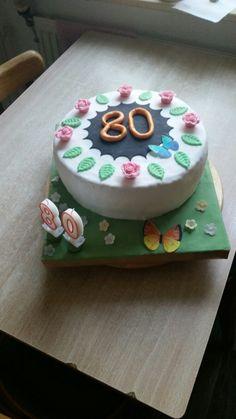 80. Geburtstag unserer Nachbarin