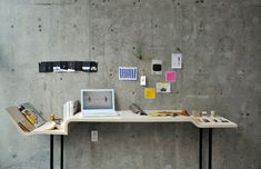 Tama Art University Class of 2012 – Concentration in Product Design // Desk with different levels for different task