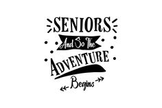 Seniors and so the Adventure Begins (SVG Cut file) by Creative Fabrica Crafts · Creative Fabrica Creative Flyer Design, Creative Flyers, Craft Quotes, Accounting Logo, And So The Adventure Begins, Svg Cuts, Design Crafts, Cricut Design, Logo Design