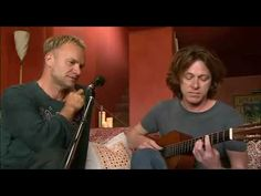 Great versio, live, Sting and Dominic Miller - Shape Of My Heart